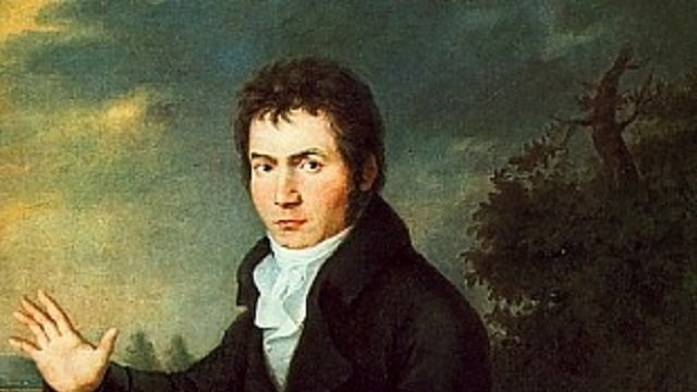 Beethoven as a young man