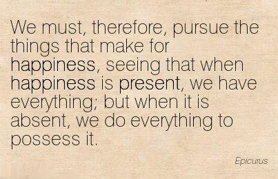 Epicurus on Happiness