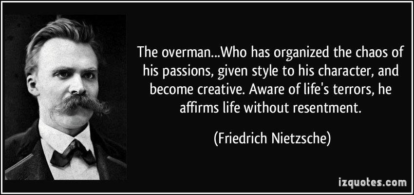 Friedrich Nietzsche's Übermensch.
