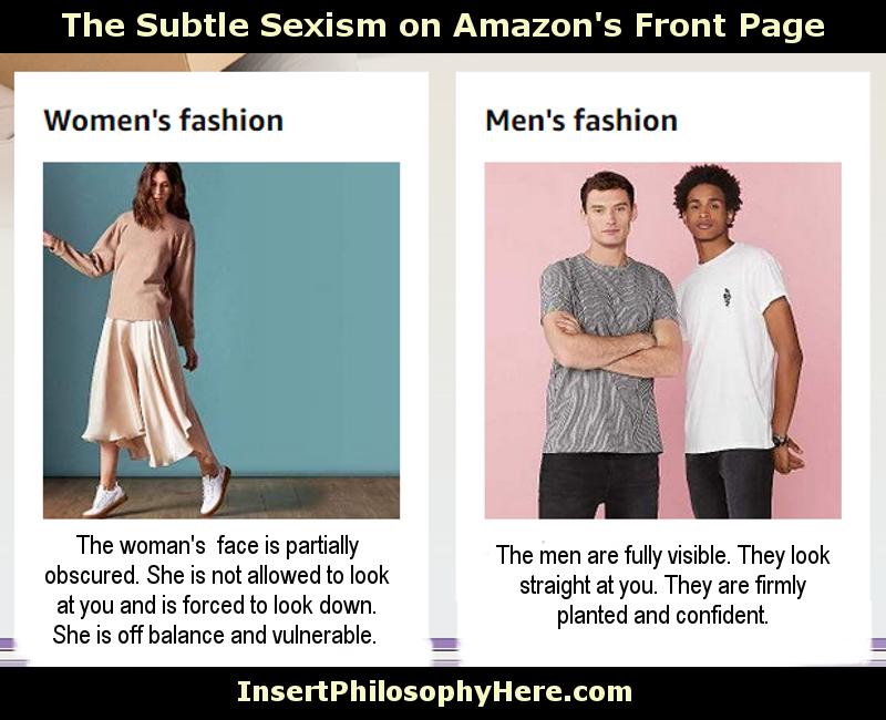 Amazon Fashion Sexism