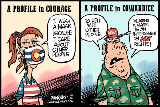 Covid Cowardice