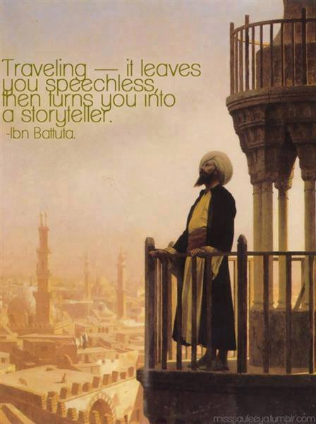 Ibn Battuta on Traveling