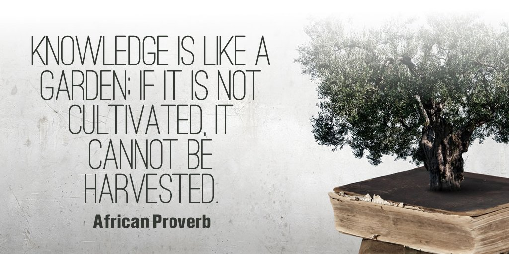 Knowledge is like a tree