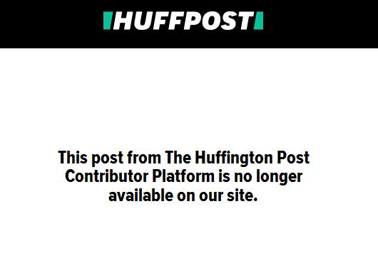 huffpo censorship