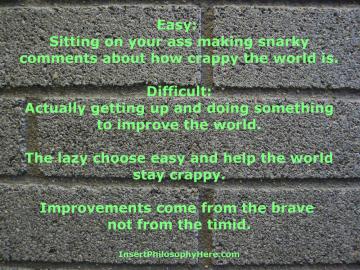 easy vs. difficult