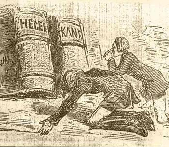 Worship of Hegel