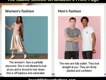 Amazon Fashion Sexism