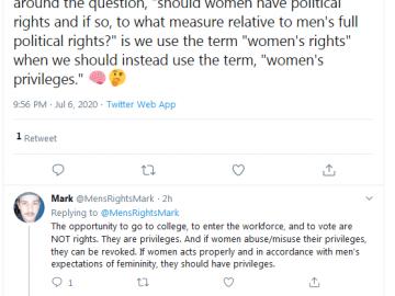 A misogynist's diatribe