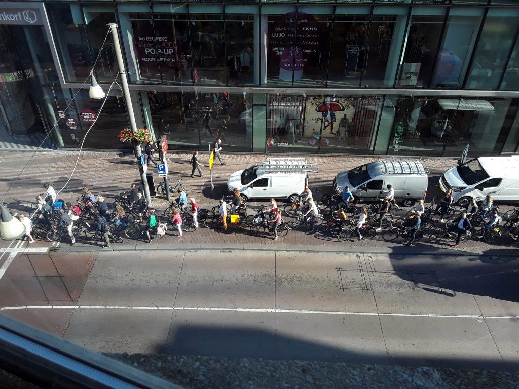 Dutch traffic jam